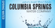 Columbia Springs Water