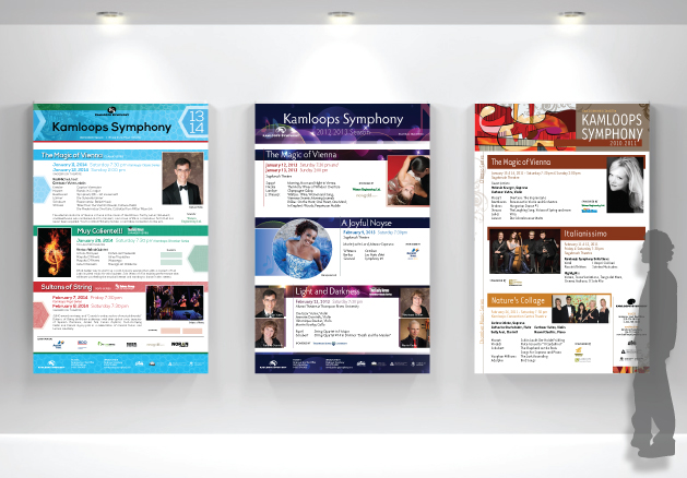 Kamloops Symphony - Graphic Design
